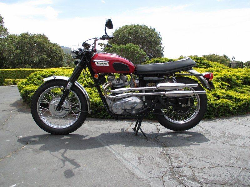 Triumph Tr C Motorcycle